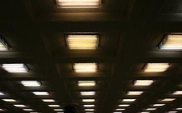 Bahnhof Lichter Bildschirm Hintergrund