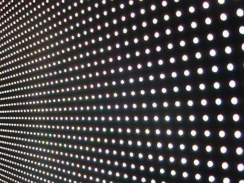 Lichter Punkte Hintergrund Bild