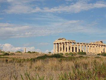 Ruinen Hintergrund Bild