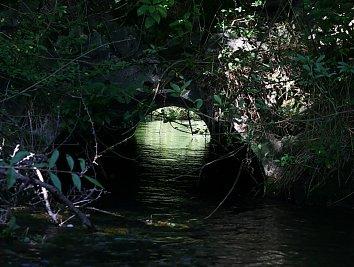 Kanal Bruecke Hintergrund