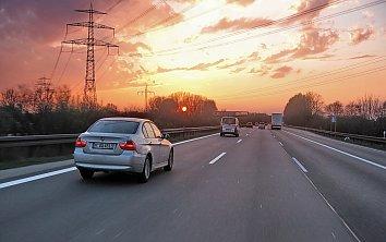Bayern Autobahn Desktopmotiv