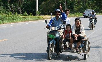 Familie Asiaten Pic