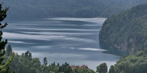 Bergsee Wallpaper Bild