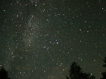 Nachthimmel Desktop Wallpaper