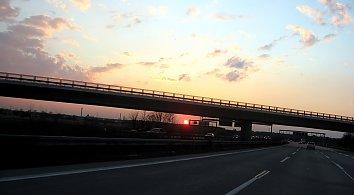 Abendsonne Hintergrundbild