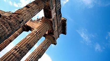 Antike Saeulen Hintergrund Pic