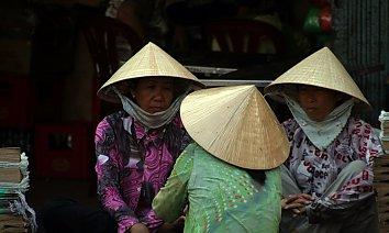 Asien Huete Bildschirmhintergrund