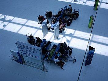 Flughafen Sitze Wallpaper