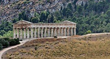 Antike Ruinen Bildschirmhintergrund