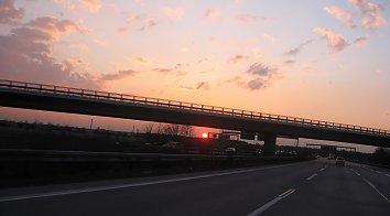 Autobahn Bildschirmhintergrund