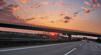 Autobahnbruecke Desktop Hintergrund