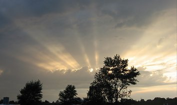Abend Himmel Background Pic