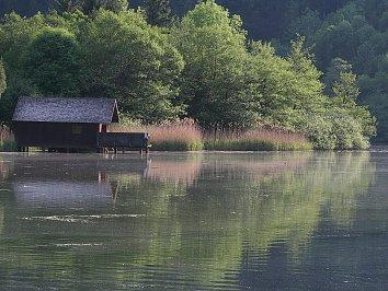 Huetten Hintergrund Bild