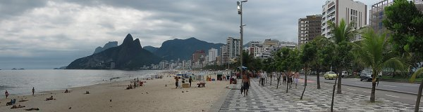 Ipanema Rio Triple Screen Wallpaper