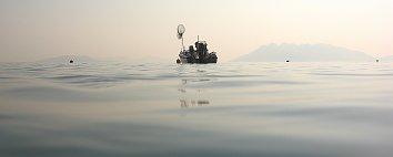 Fischerboot Hintergrundbild