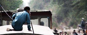 Lastwagen Asien Bildschirmhintergrund