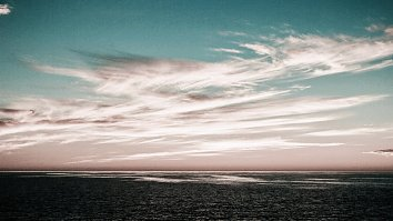 Abendrot Wolken Wallpaper