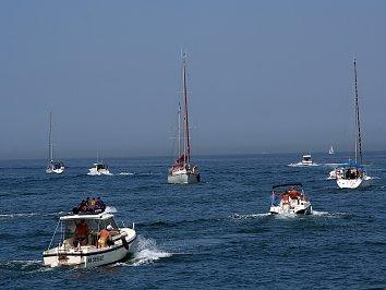 Boote Masten Bildschirm Hintergrund