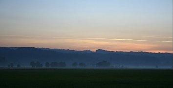 Abendlicht Desktop Hintergrundbild